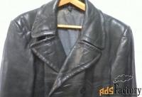 пальто военное кожаное, времен  второй мировой войны, 1941-45 г.г.