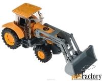 трактор-экскаватор технопарк