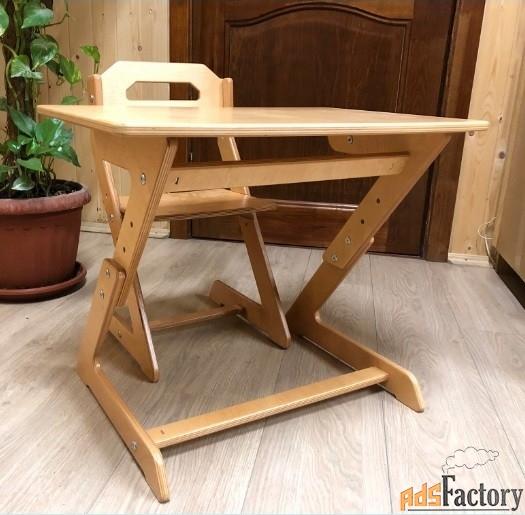 стульчик «кенгурёнок» + столик (комплект)