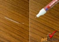 маркер для ремонта сколов и царапин на мебели
