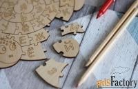 пазл-раскраска «алфавит»