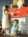 Домик-раскраска с наклейками