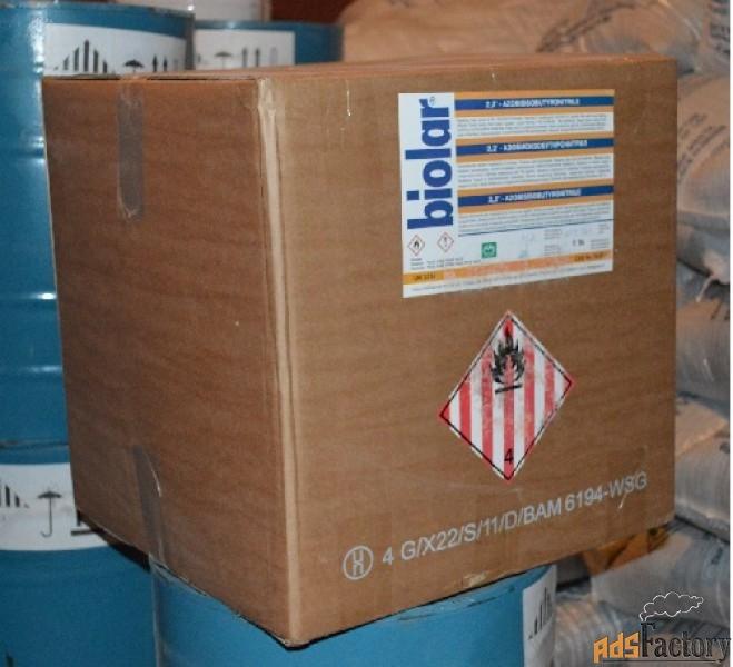 продаем порофор чхз-57 (азобисизобутиронитрил)