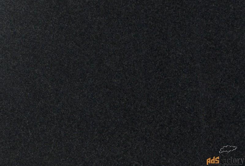 гранит черный absolute black плитка 15/18*300*600 в наличии