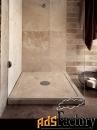душевой поддон из натурального камня травертина для ванной комнаты