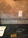 тамбл галтованная плитка из камня для ванных комнат и кухонь
