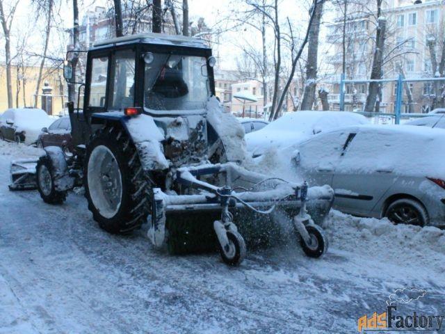 уборка, погрузка и вывоз снега