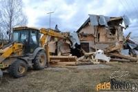 планировка,вывоз мусора, металлолома, демонтаж ветхих построек