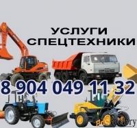 услуги/аренда спецтехники в н.новгороде и области