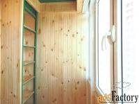 обшивка утепление балкона. красноярск
