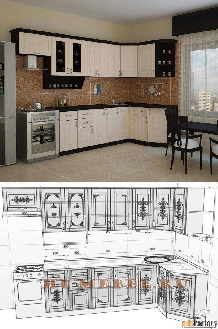 кухня беларусь-3 угловая, правая, левая