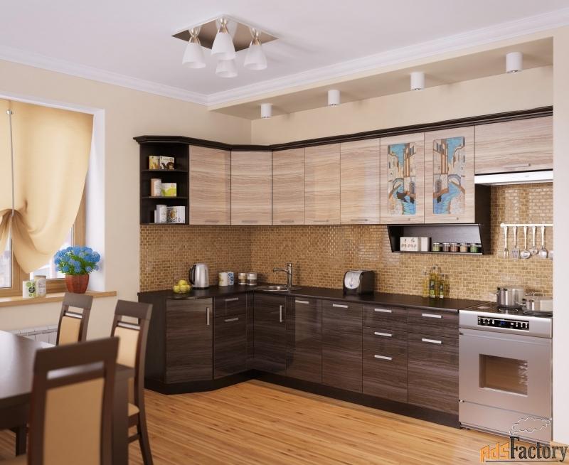 кухня венеция-3 угловая, правая, левая