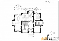 проект загородного дома b-508.