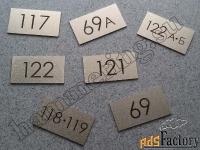 знаки, таблички, указатели, вывески, шильды