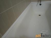 бордюр на ванну, герметизация.