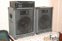 акустика профессиональная для дискотек дачи гаража студии