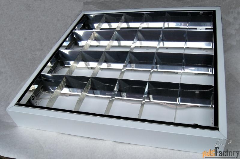 светильники лайт люкс лпо 4х18