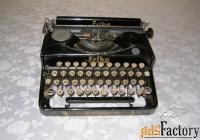 печатная машинка erika 5