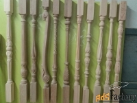 резной столб грифон из дерева для лестниц.