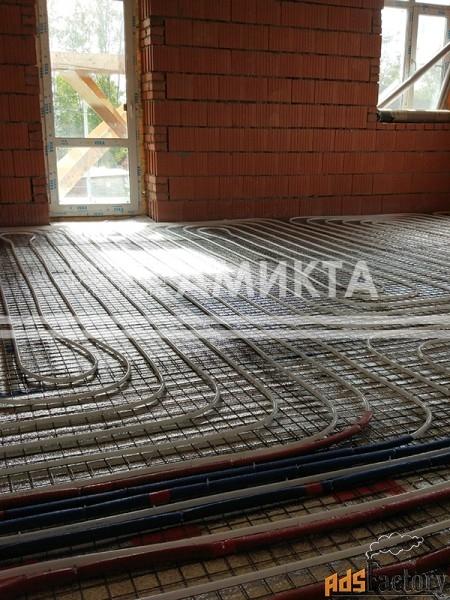 теплый пол для частных домов (спб и лен. область)