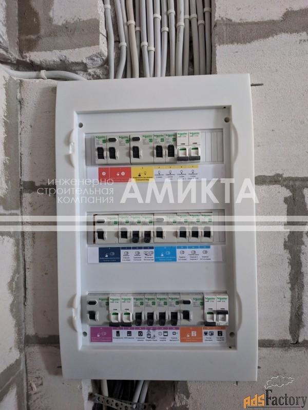электрика для частных домов (спб и лен. область)