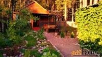 Частный дом в турбазе Чайка, в сосновом бору, у озера