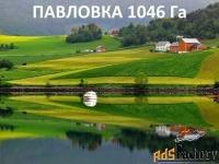 земля на павловке 1046 га а аренде на 10 лет под бизнес