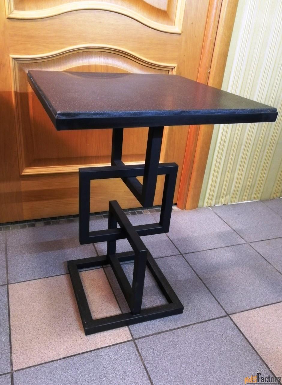 столик дачный всепогодный стол из камня для дачи для коипьютора