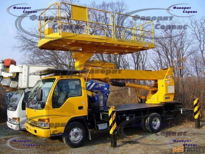 услуги японских автовышек от 10 до 37 метров от 900 руб/час
