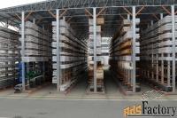 самонесущие склады (стеллажи)