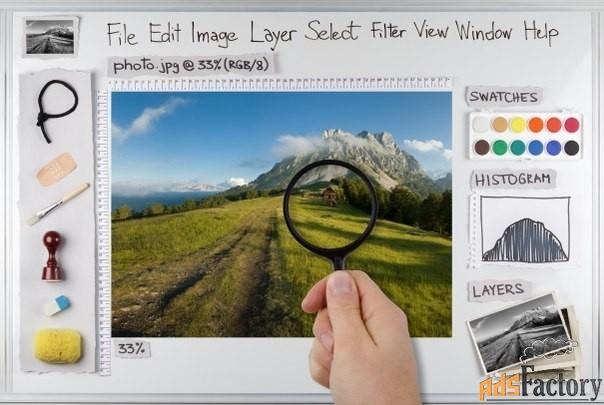 Компьютерные курсы «Photoshop». Компьютерная обработка фотографий