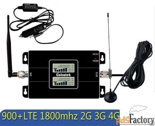 «автомобильный усилитель сигнала сотовой связи 900 mhz + 1800 mhz + 2,