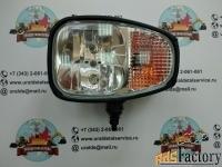 фара основного освещения uds-003 (volvo, jcb, hidromek, terex) нижнее