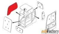 стекло кабины правое (триплекс) 903-00072a doosan / daewoo dx140-dx520