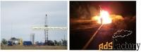 месторождение нефти и газа. поволжье