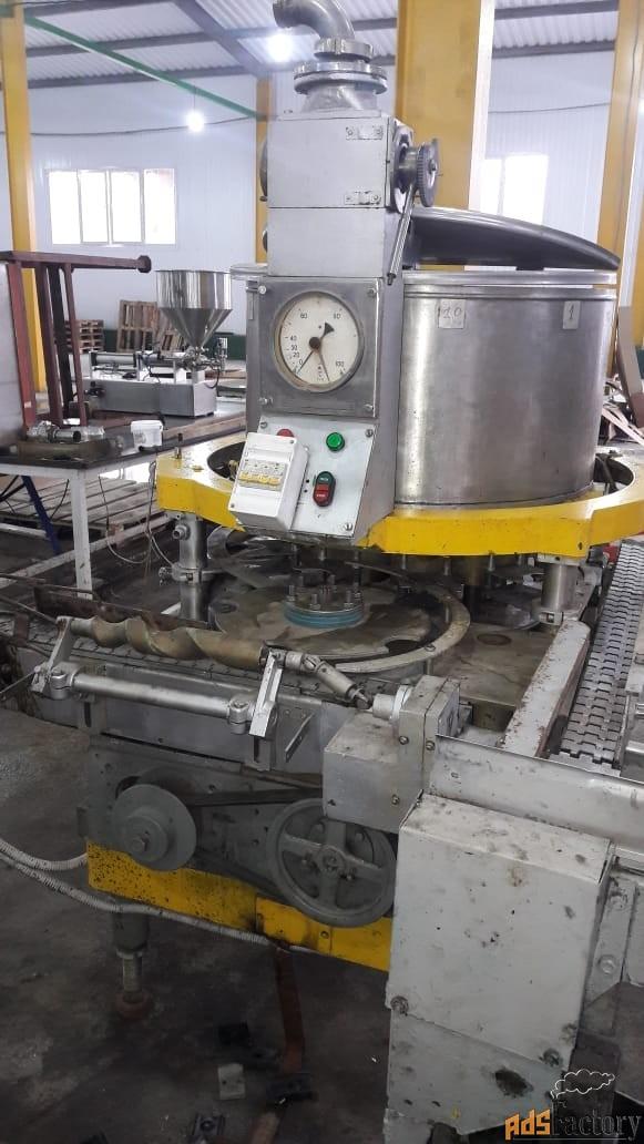 дозировочно наполнительный автомат дн3-1-125 (б/у) для густых масс.