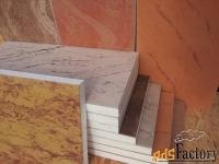 фасадные термопанели с мраморным покрытием