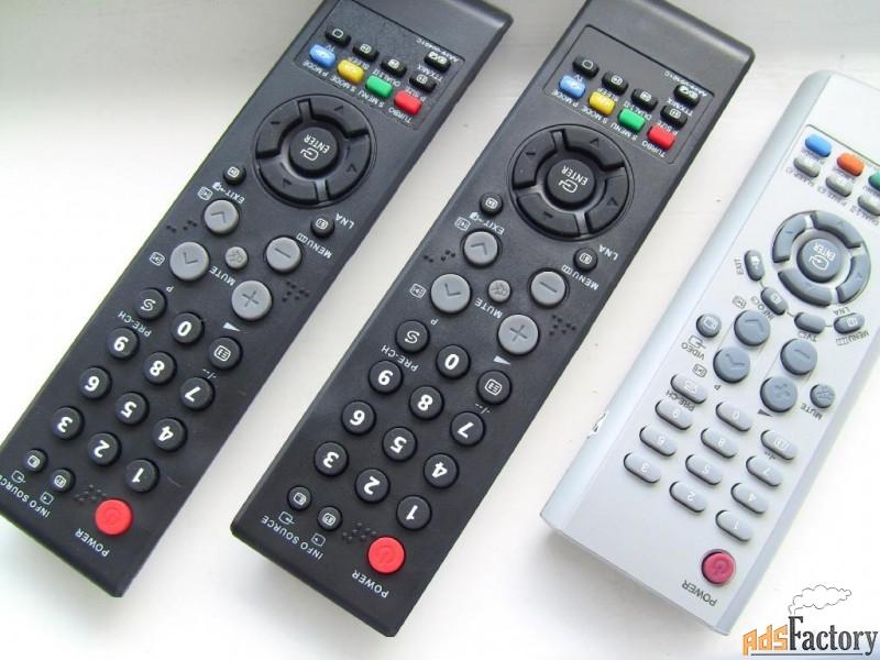 ремонт пультов tv, кондиционеров,муз.центров