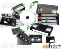оцифровка видеокассет без монтажа