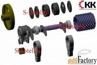 валок подвижный дробилки ддз-4 и запчасти