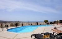 Впечатляющий 4-спальный особняк с видом на море в районе Пафоса-Кипр