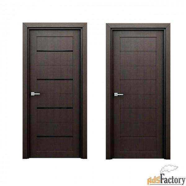 межкомнатные двери экошпон орион 3d