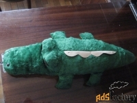Крокодил плюшевый СССР