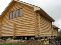 деревянные дома, бани ручной рубки