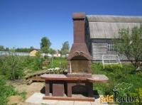 садовые печи барбекю от производителя