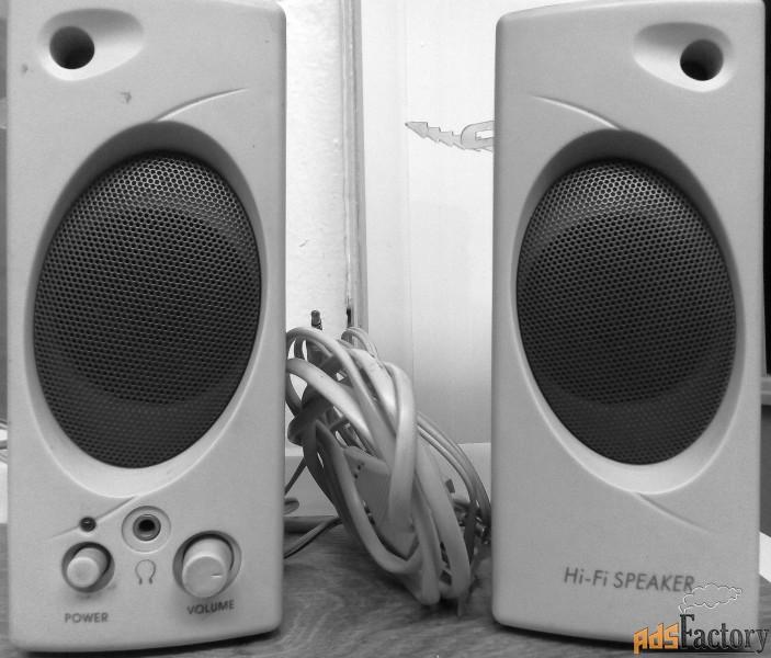 колонки мини hi-fi speaker для компа