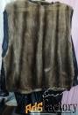 мужская куртка кожаная, утеплённая, (удлинённая) (новая)