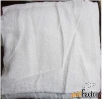 большая махровая банная белая простыня:160х150 см.