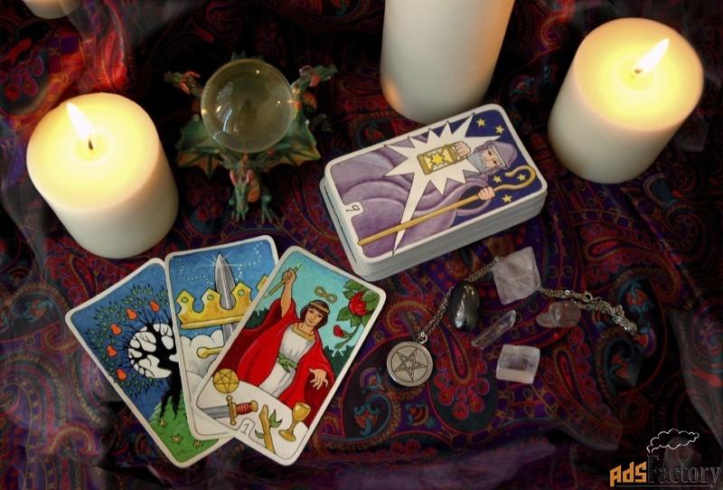 ясновидение.гадание на картах таро.магия.