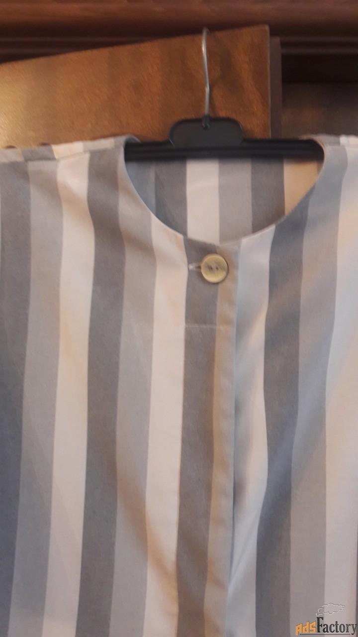 блузка. три оттенка серого.